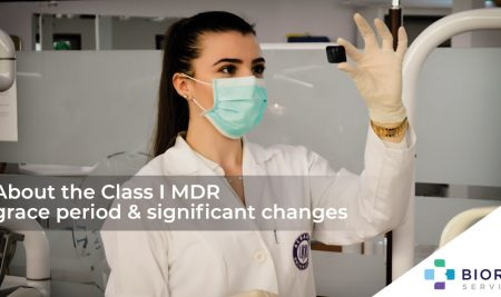 About the Class I MDR grace period & significant changes